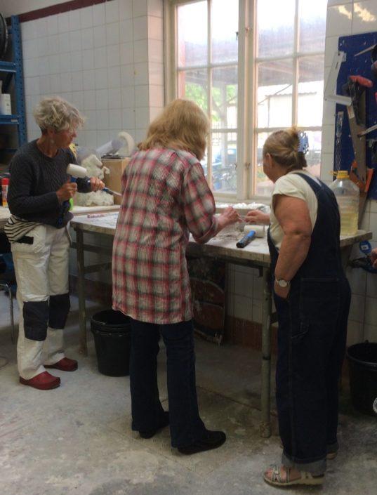 Örebro Konstskola Gipsverkstan