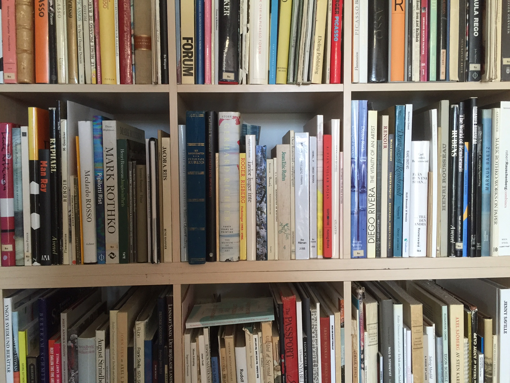 Nya böcker och nya ord
